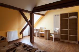 Nově zrekonstruované pokoje vpenzionu UBambuchů